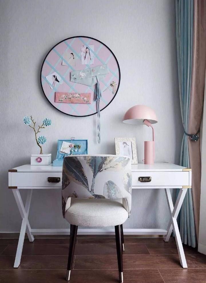 2021新中式卧室装修设计图片 2021新中式梳妆台装修设计