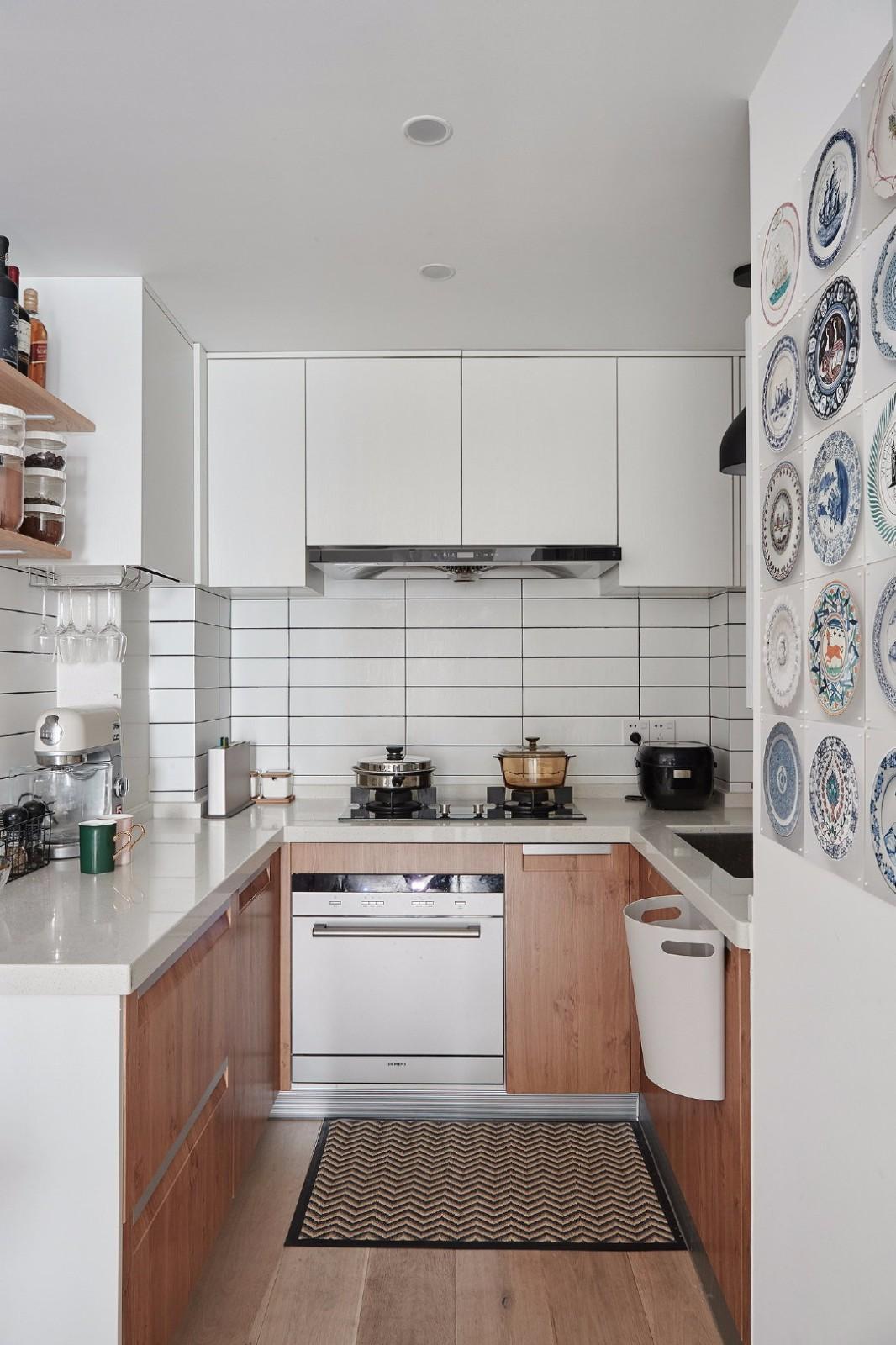 2020北欧厨房装修图 2020北欧灶台装修图片