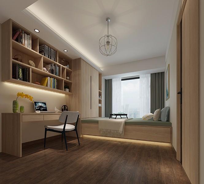 2019中式卧室装修设计图片 2019中式书桌装修图