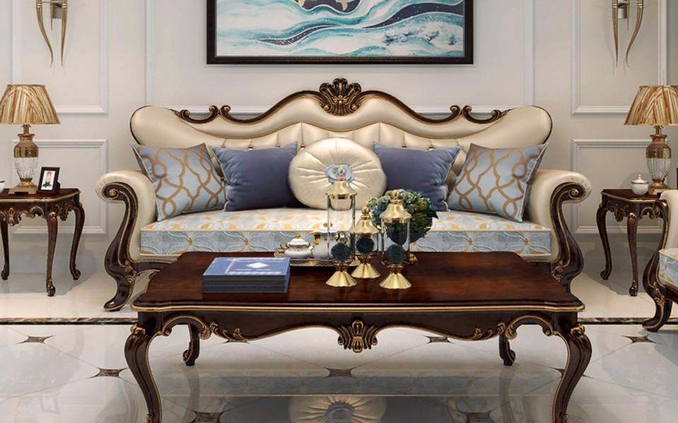 2021现代中式客厅装修设计 2021现代中式沙发装修设计