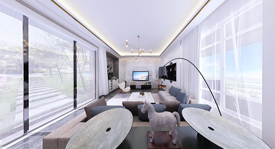2019現代簡約240平米裝修圖片 2019現代簡約別墅裝飾設計