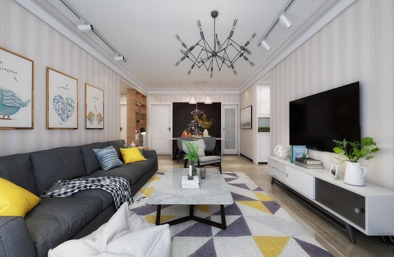 2室2卫2厅90平米现代风格