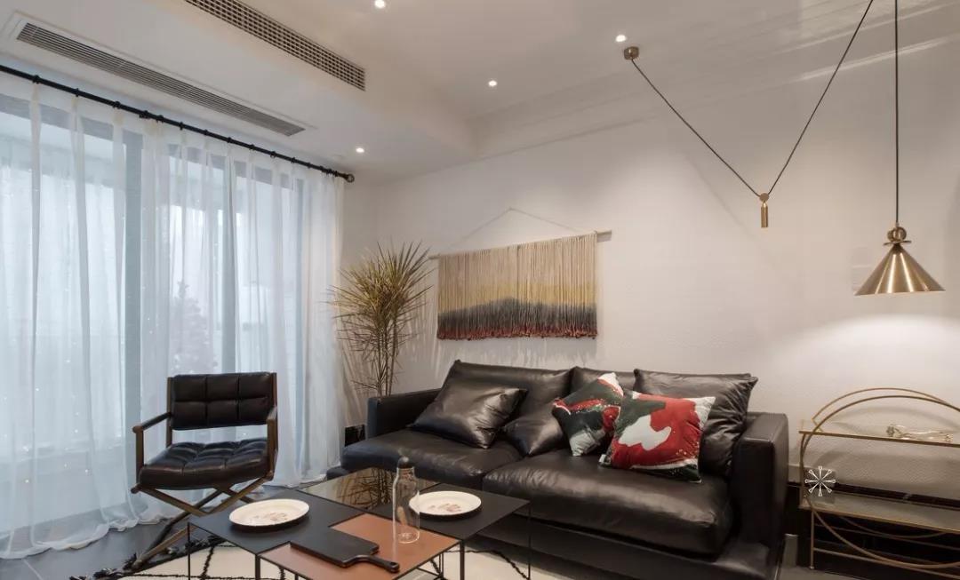 87㎡簡約北歐二室兩廳靈動線條勾勒品質之家圖片