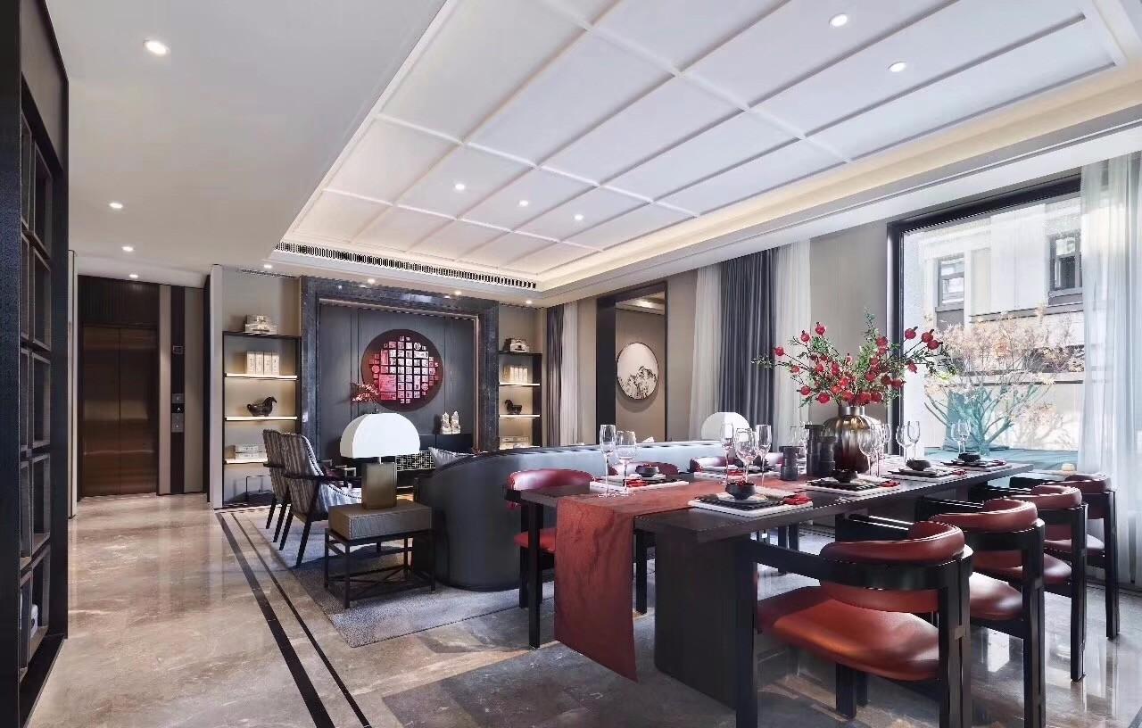 2019新中式300平米以上裝修效果圖片 2019新中式別墅裝飾設計