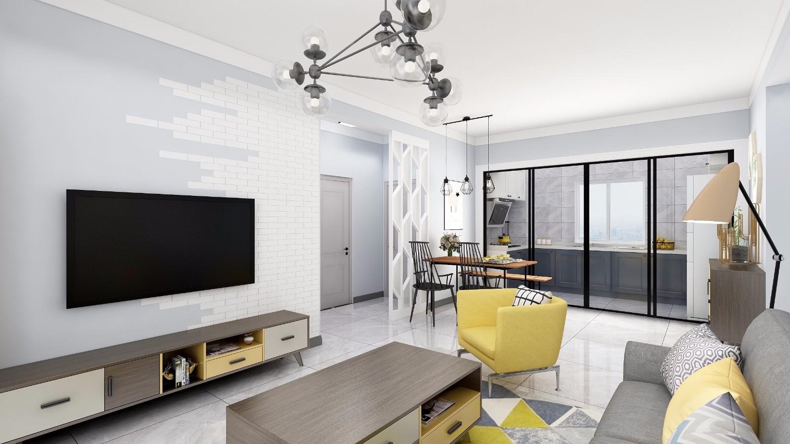 2019北欧90平米装饰设计 2019北欧楼房图片