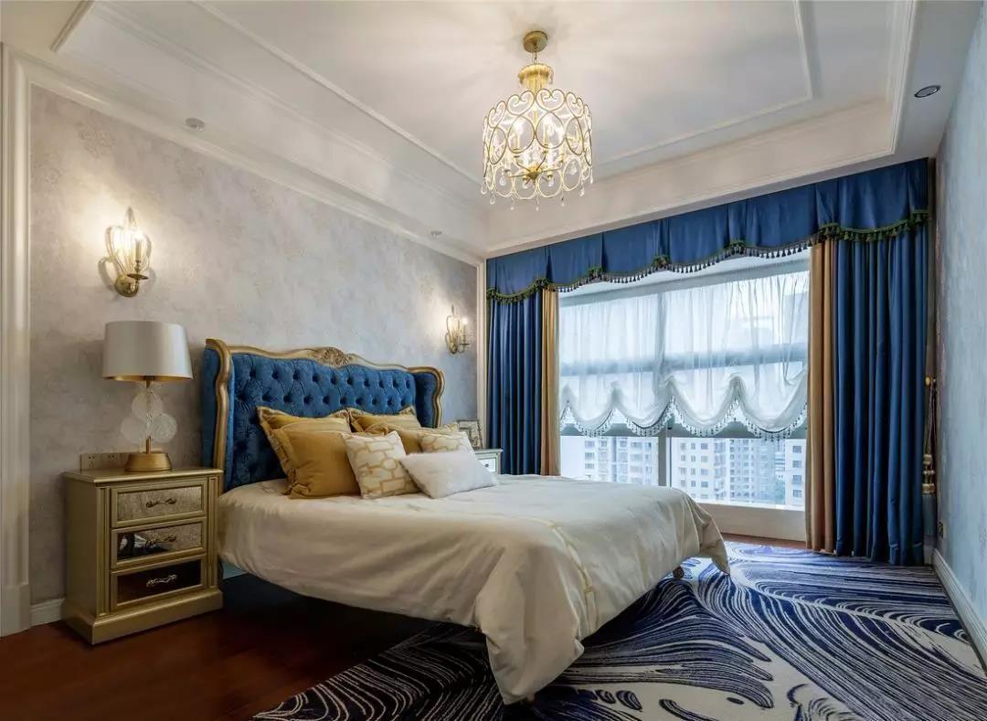 2019欧式卧室装修设计图片 2019欧式飘窗图片