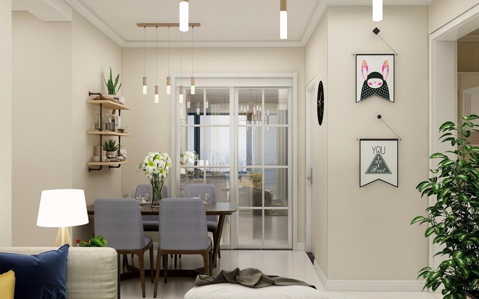 4室2衛2廳120平米現代簡約風格