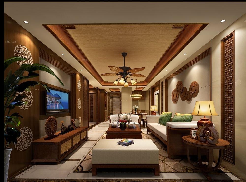 2020东南亚客厅装修设计 2020东南亚沙发装修设计