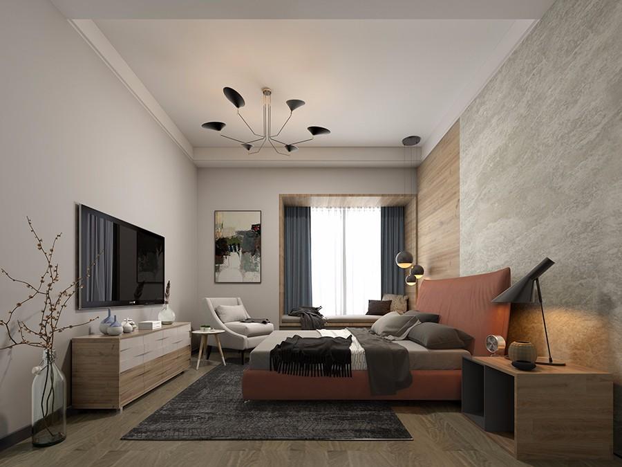 2019现代卧室装修设计图片 2019现代窗台装修设计图片