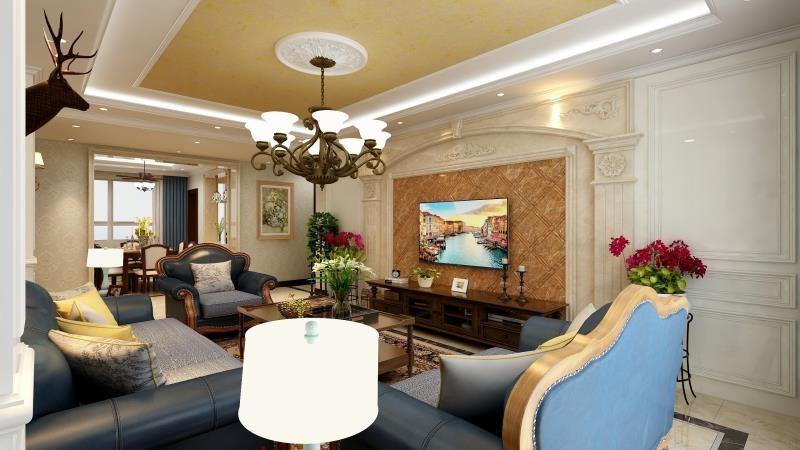 4室2卫2厅140平米美式风格