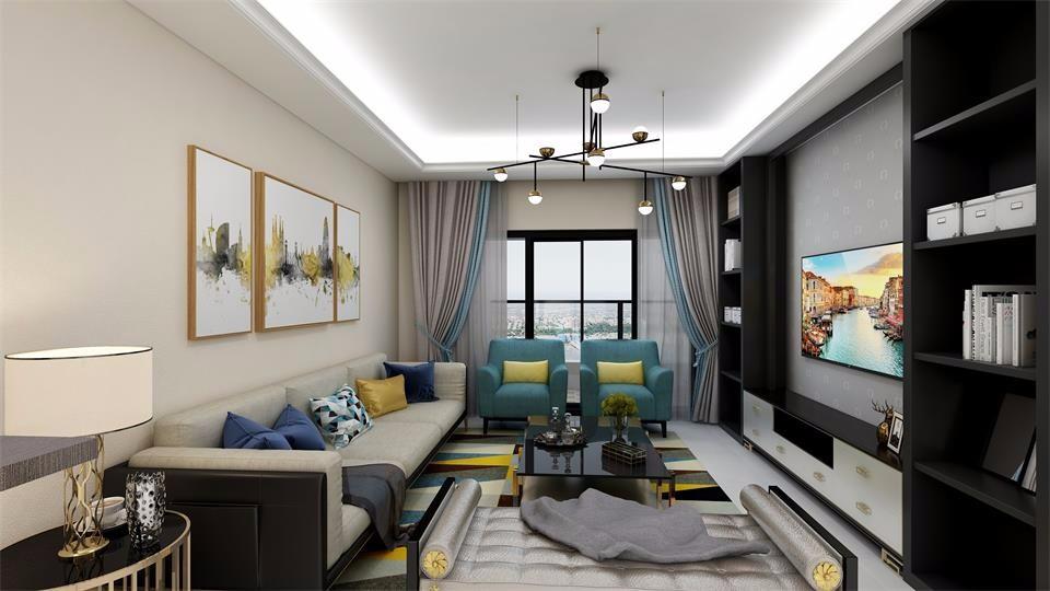 3室1卫2厅北欧风格