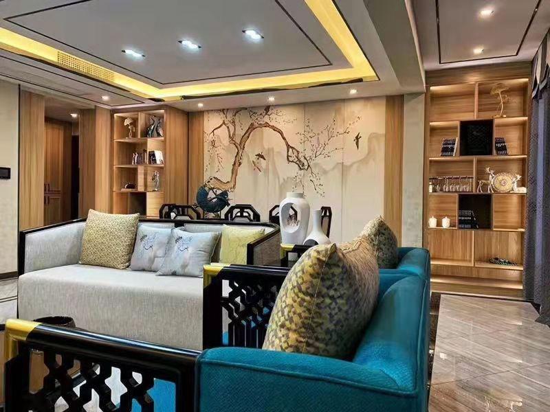 2室2卫1厅84平米新中式风格