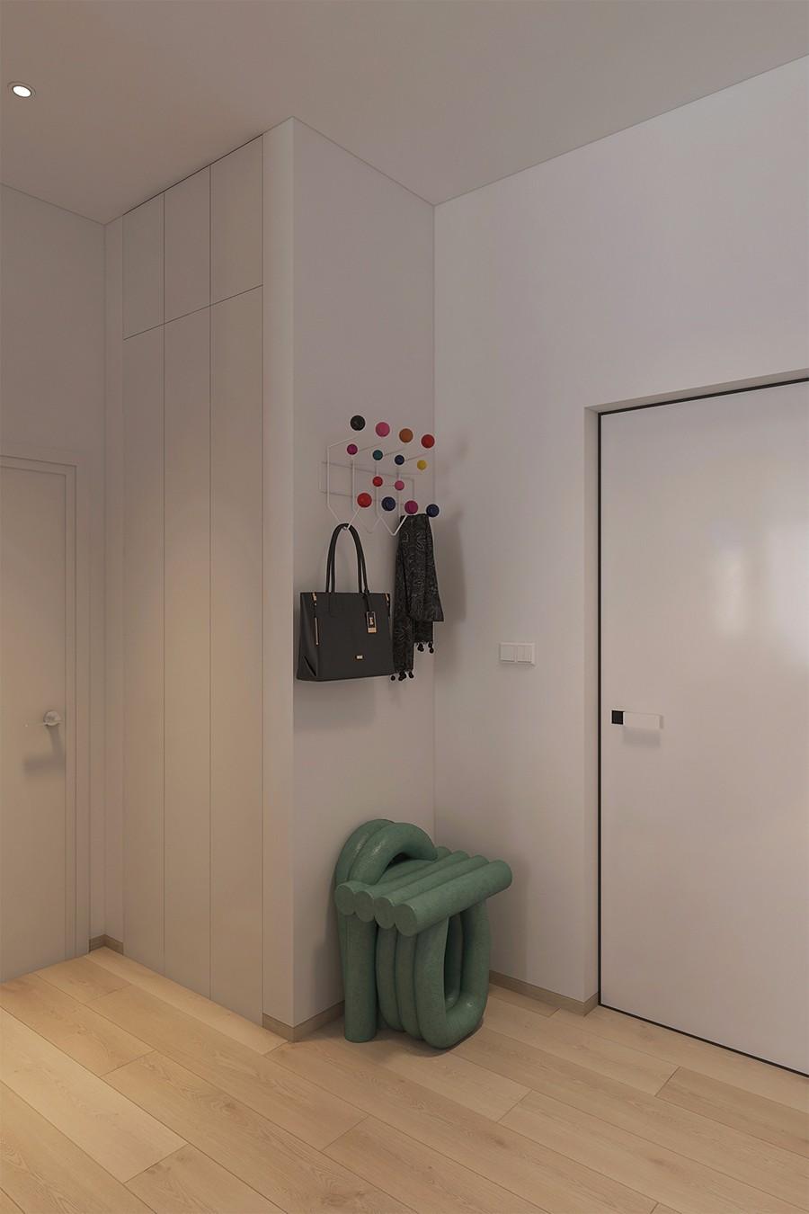 2019现代简约玄关图片 2019现代简约走廊装修效果图片