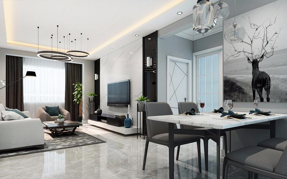 2019后现代客厅装修设计 2019后现代细节装饰设计