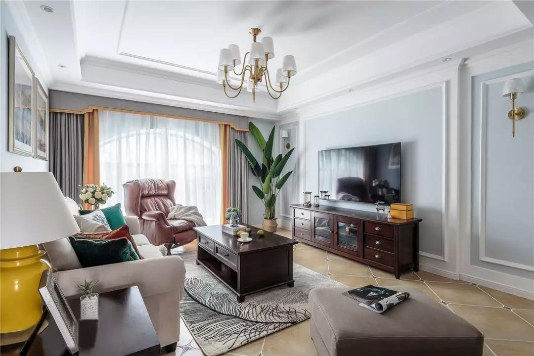 2021美式240平米装修图片 2021美式三居室装修设计图片