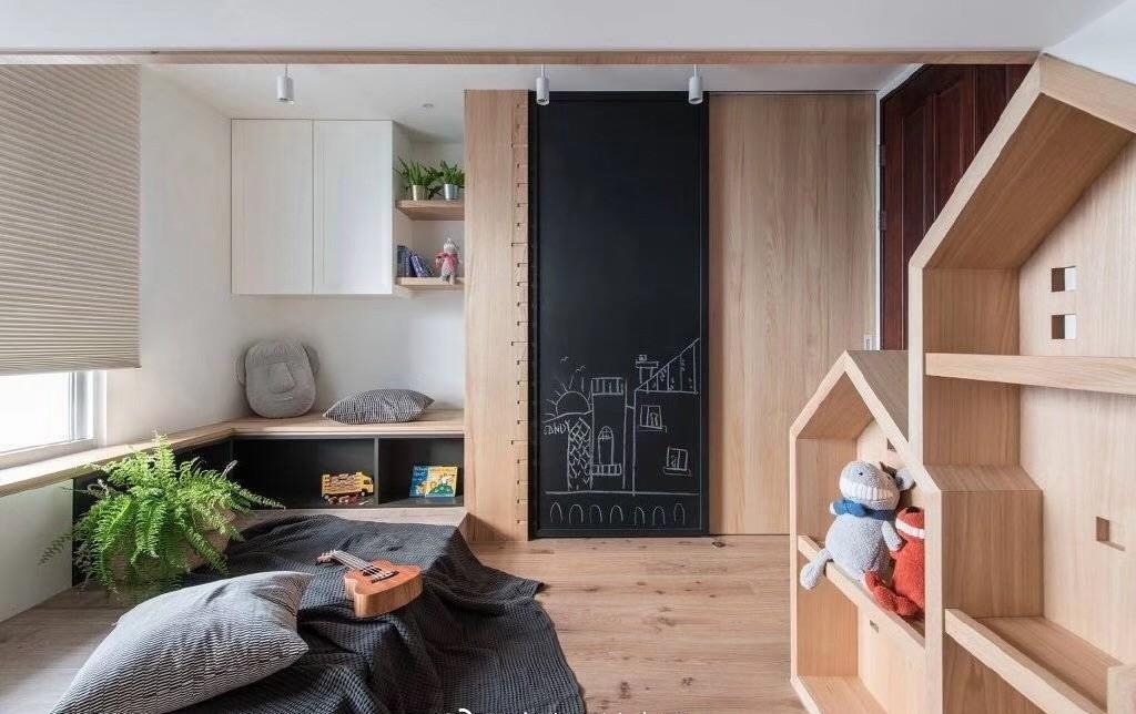 2019日式儿童房装饰设计 2019日式窗台图片