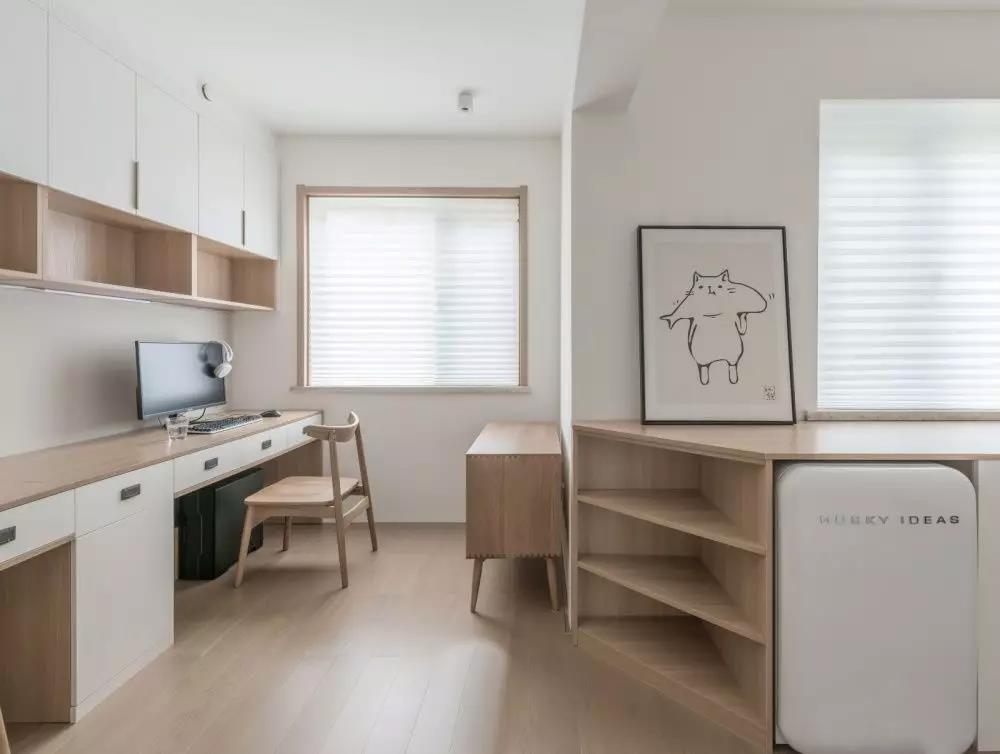 2020日式90平米裝飾設計 2020日式三居室裝修設計圖片