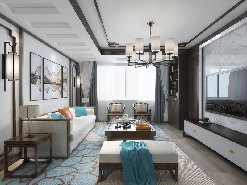 2020中式90平米装饰设计 2020中式二居室装修设计