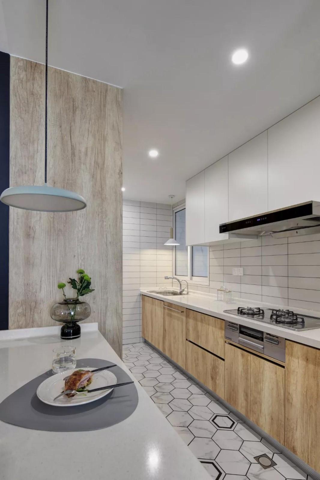 2019北欧厨房装修图 2019北欧厨房岛台装饰设计