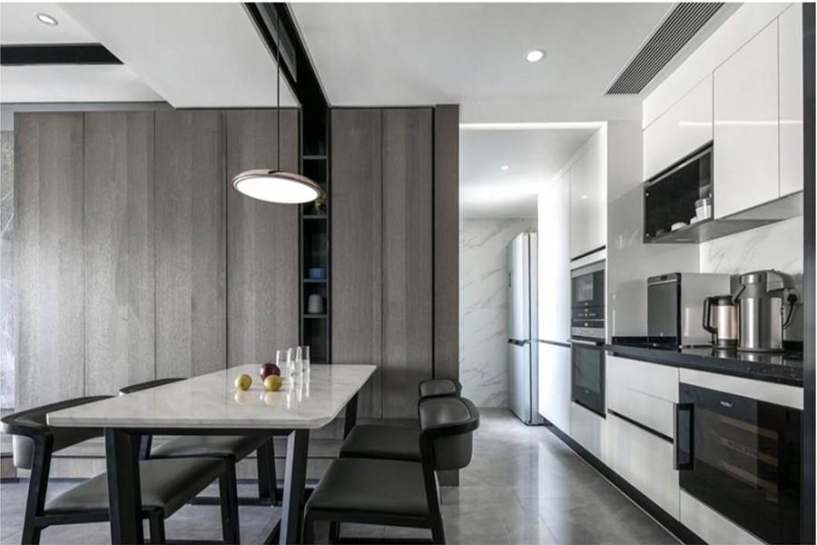 2室2卫2厅120平米现代风格