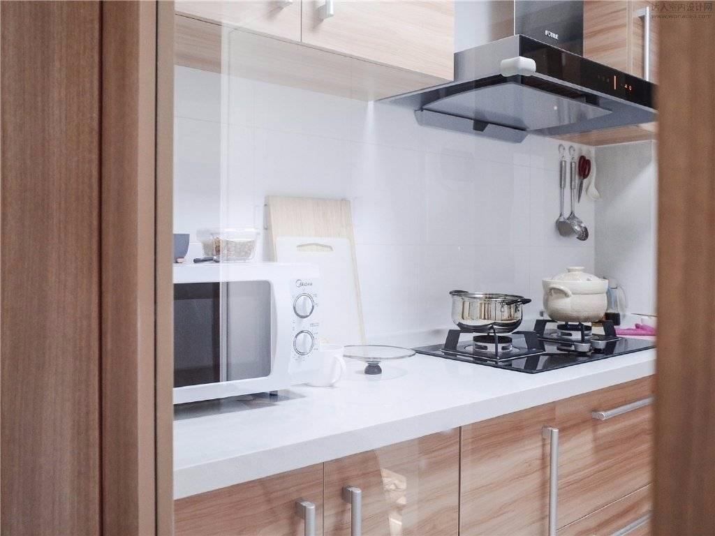 2020現代簡約廚房裝修圖 2020現代簡約灶臺裝修圖片