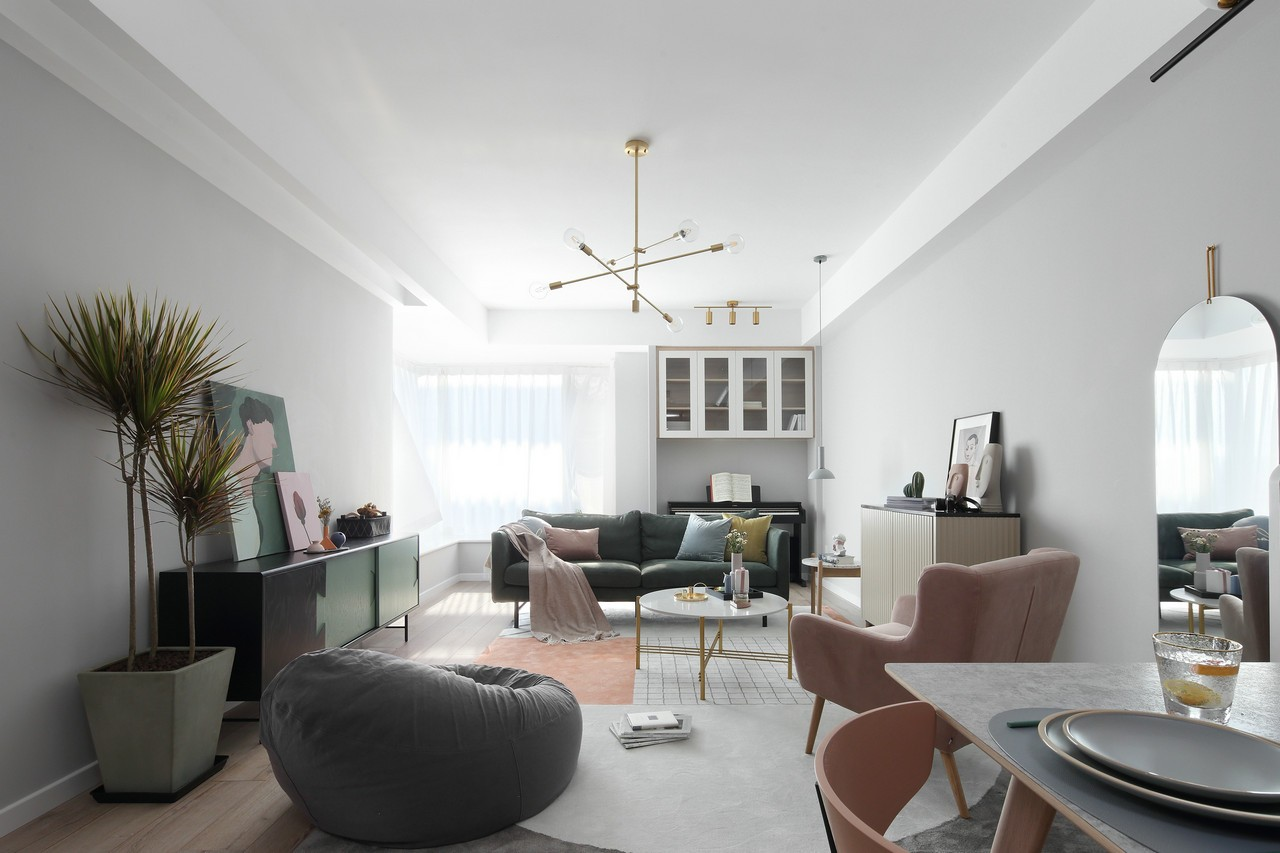 2019北欧70平米设计图片 2019北欧二居室装修设计