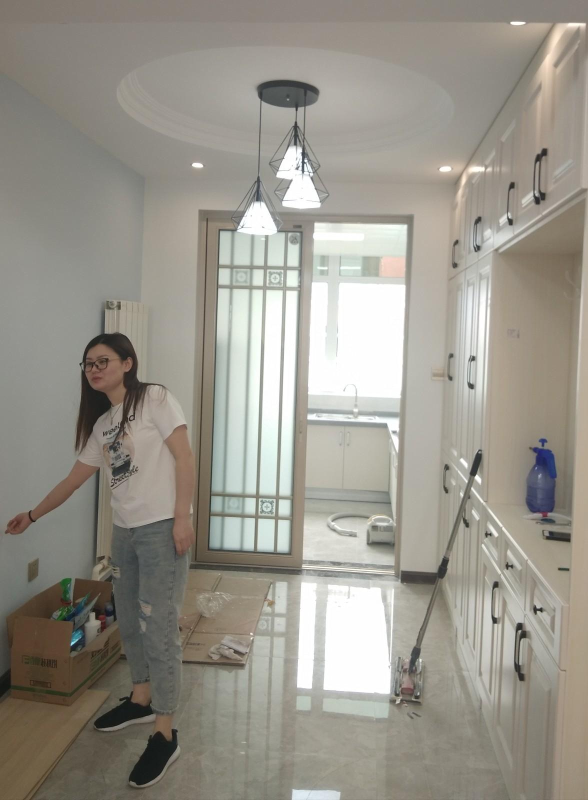 130平米舊房改造時尚田園三居室