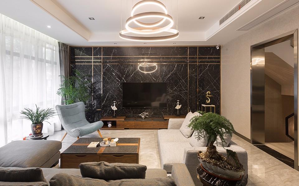 2019現代240平米裝修圖片 2019現代別墅裝飾設計