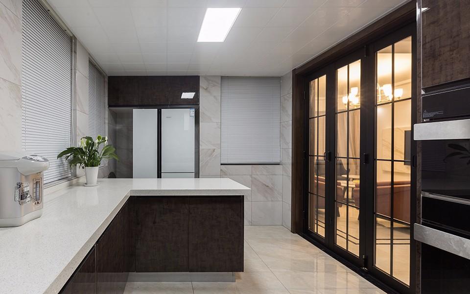 2020现代厨房装修图 2020现代推拉门装修设计