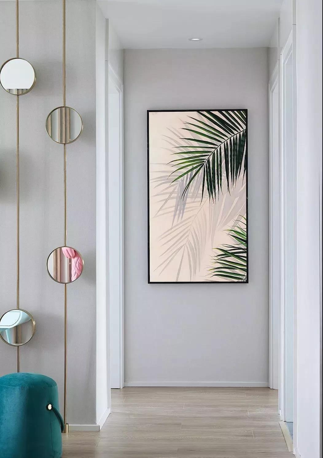 2019美式玄关图片 2019美式走廊装修效果图片