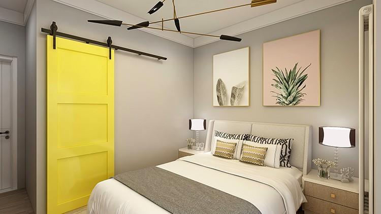 2020北歐臥室裝修設計圖片 2020北歐推拉門裝修圖片