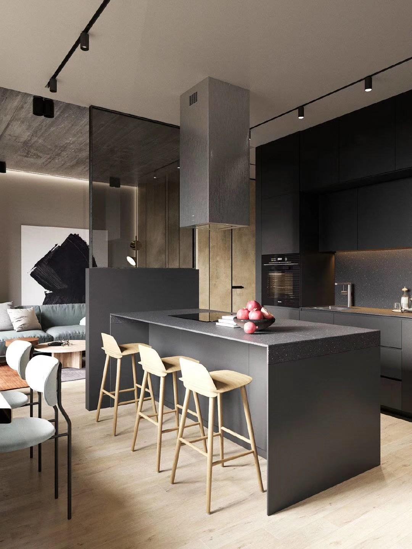 2020工业客厅装修设计 2020工业背景墙装修设计