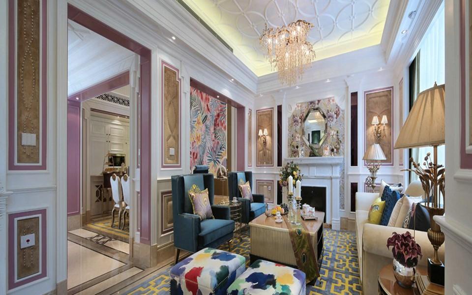 2020新古典90平米裝飾設計 2020新古典三居室裝修設計圖片