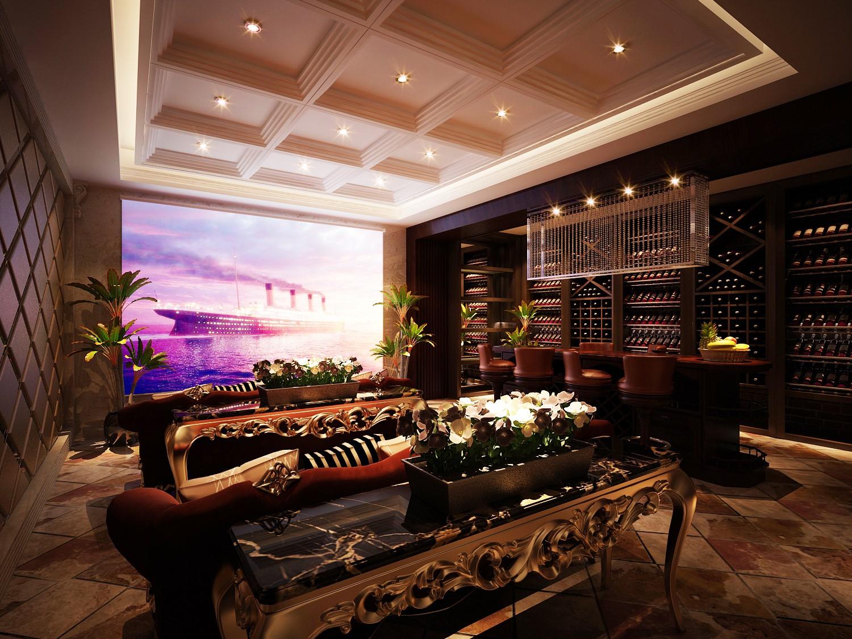 2020歐式地下室效果圖 2020歐式酒窖裝飾設計