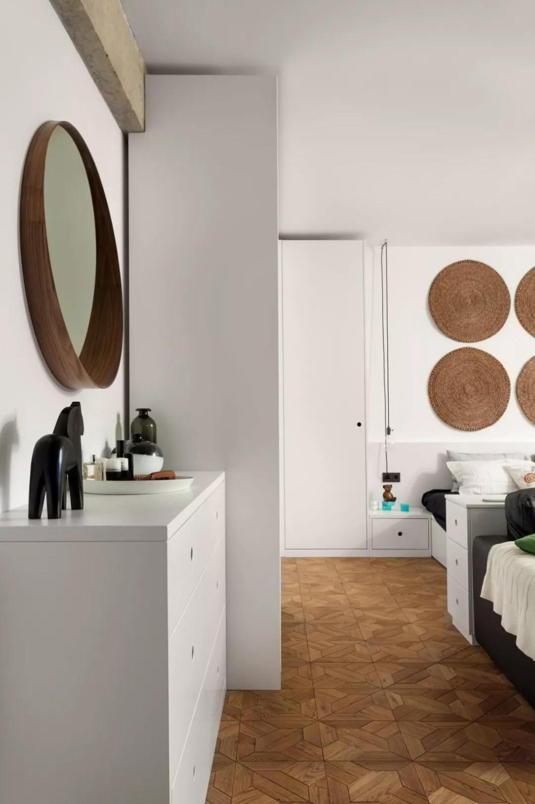 2021后现代卧室装修设计图片 2021后现代梳妆台装修设计