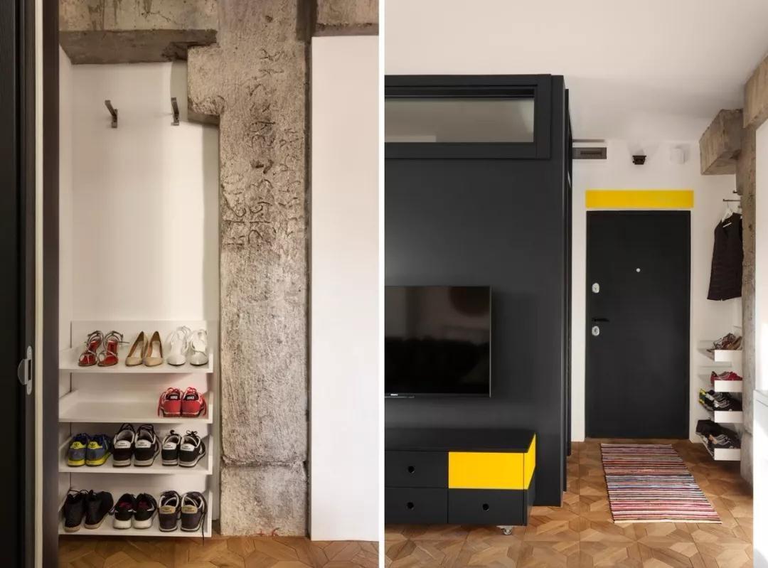 2020后现代玄关图片 2020后现代鞋柜装修图