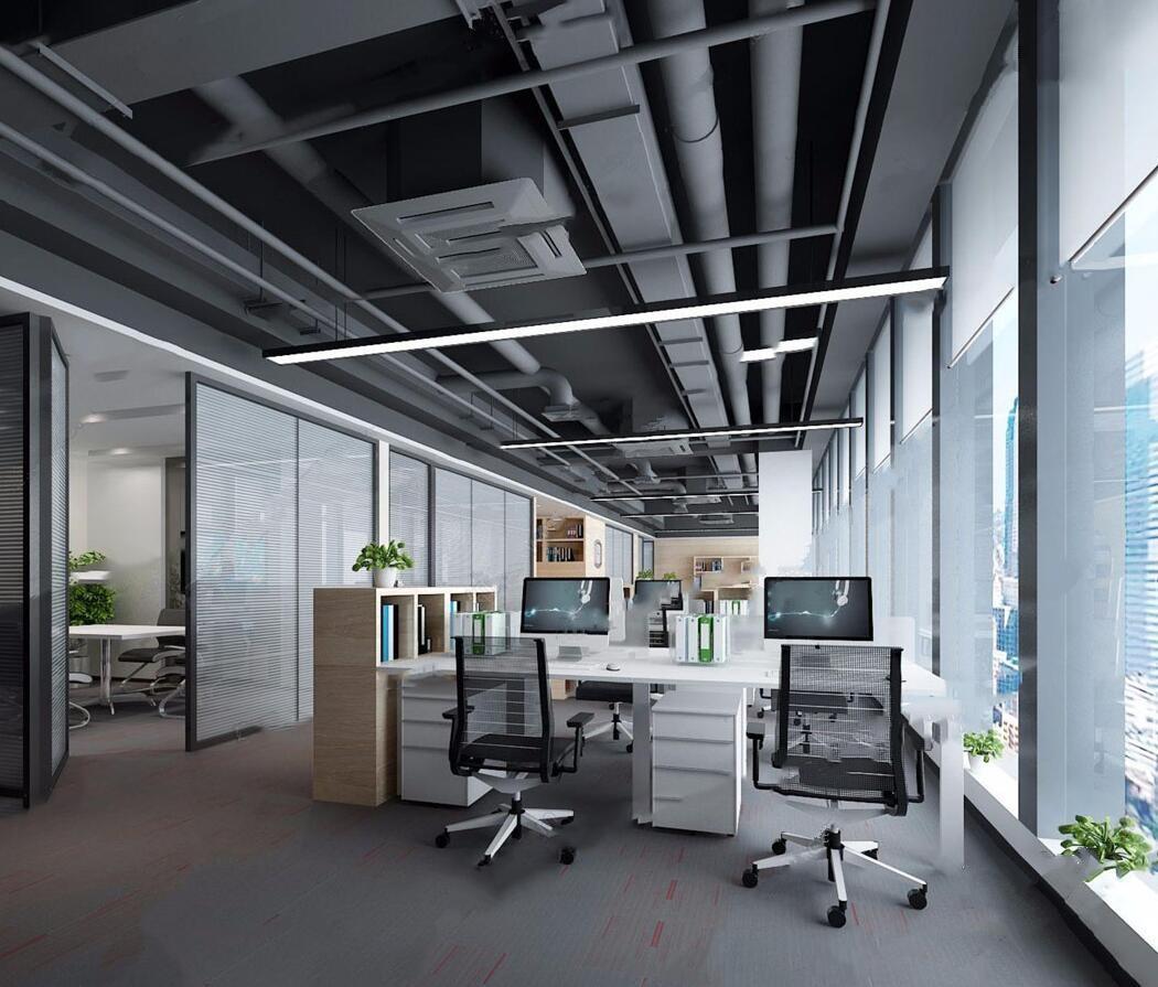 現代辦公室裝修設計
