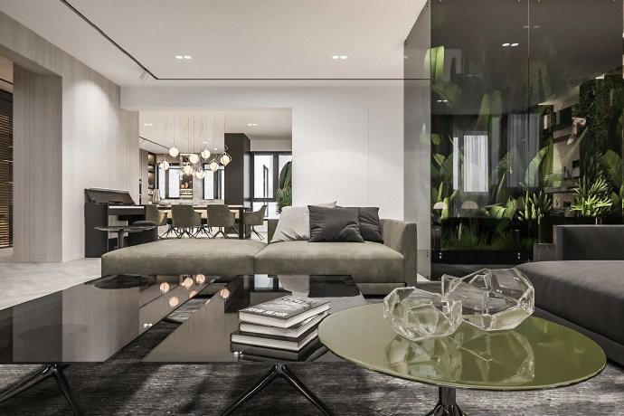 2019现代简约客厅装修设计 2019现代简约细节装饰设计