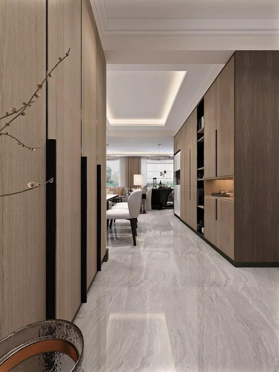 2020后现代客厅装修设计 2020后现代地砖装修效果图大全