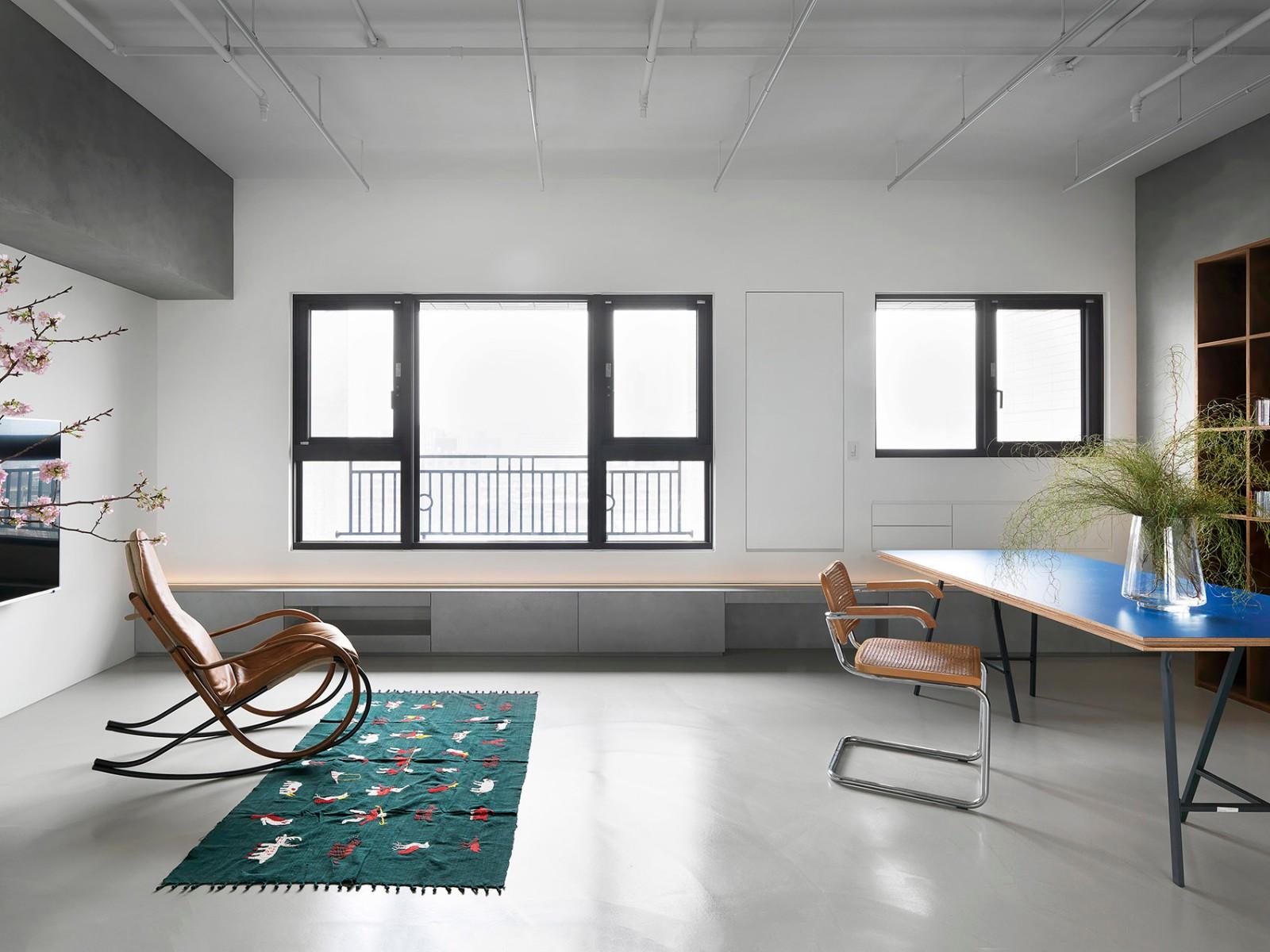 2019工业客厅装修设计 2019工业地砖装修效果图大全