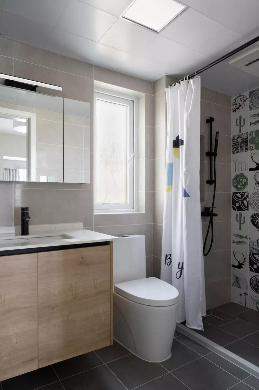 2020欧式卫生间装修图片 2020欧式浴室柜装修图片