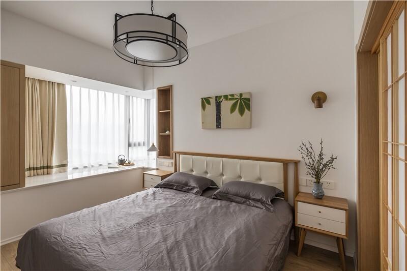 2020日式卧室装修设计图片 2020日式飘窗图片