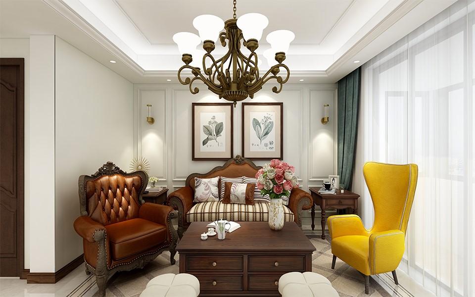 4室4卫2厅200平米美式风格