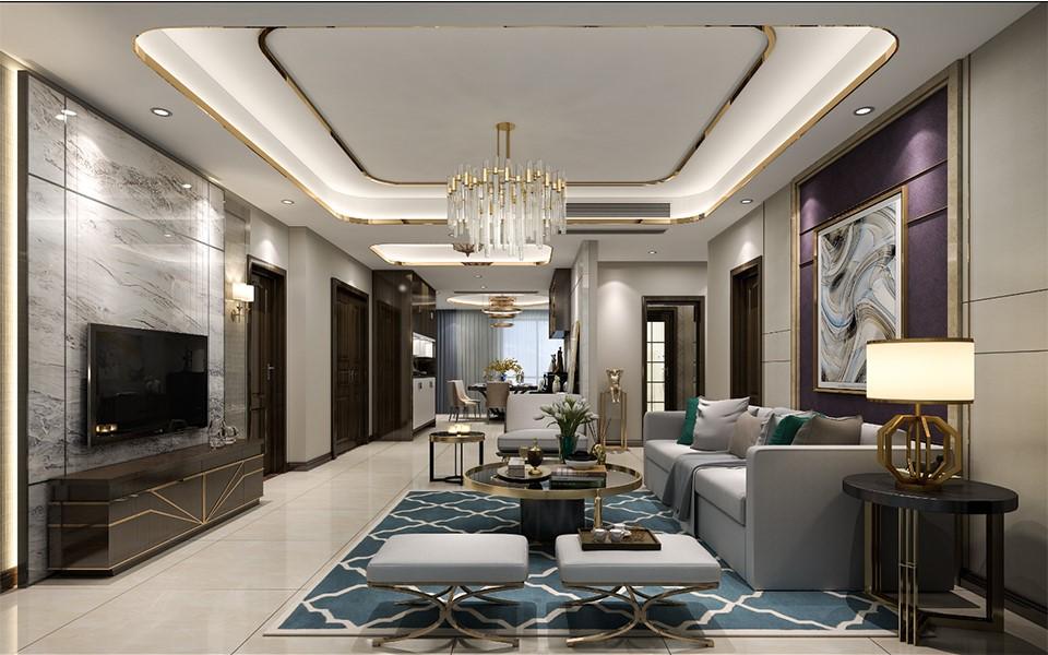 4室2卫2厅后现代风格