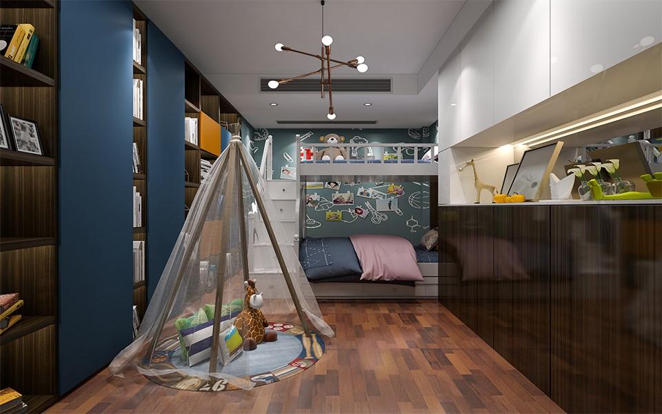 2020后现代儿童房装饰设计 2020后现代细节装修图片