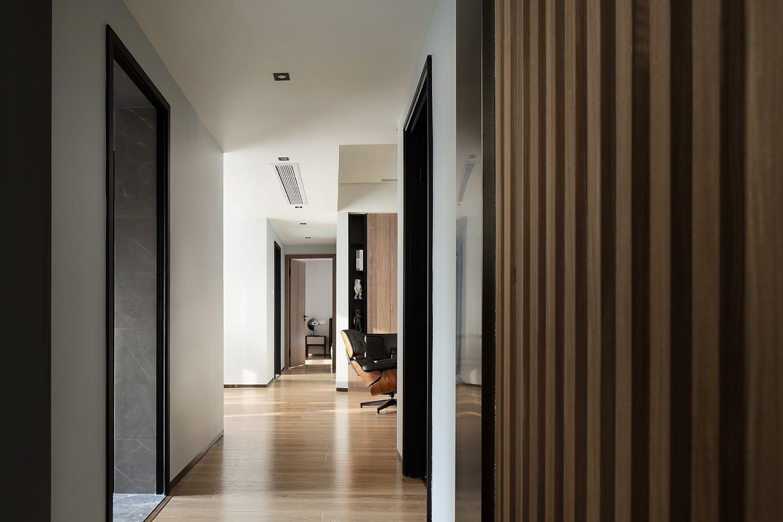 2020簡約起居室裝修設計 2020簡約隔斷裝修設計圖片