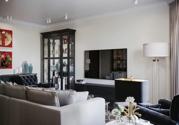 4室2卫2厅150平米美式风格