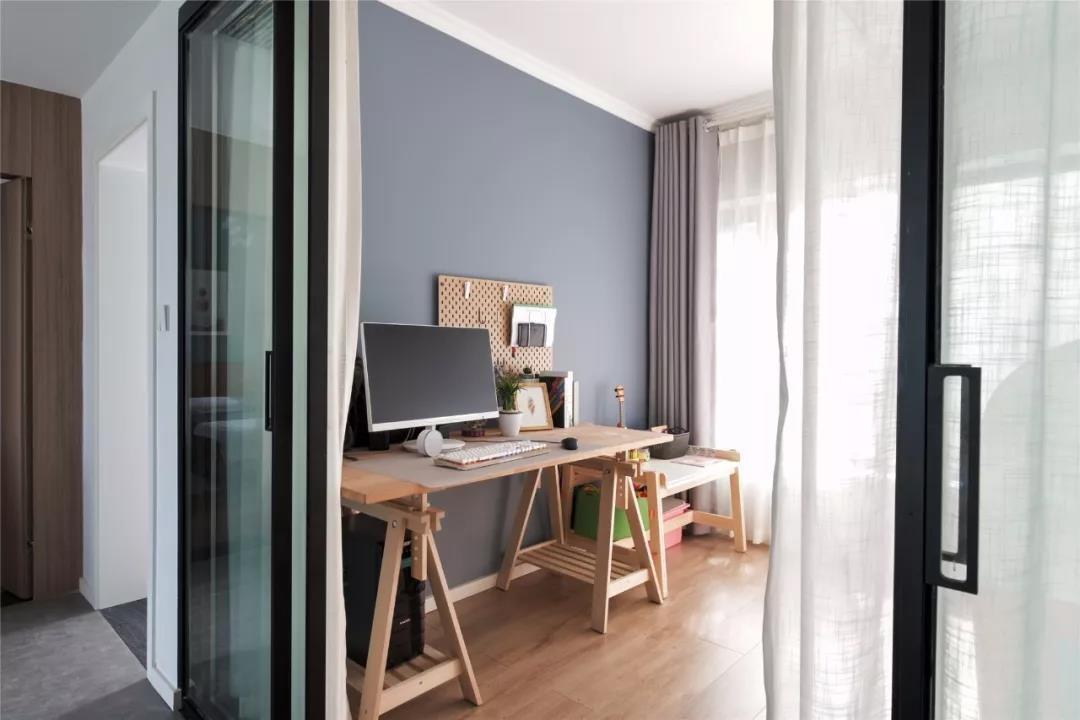 2020北欧阳光房设计图片 2020北欧书桌装修效果图片