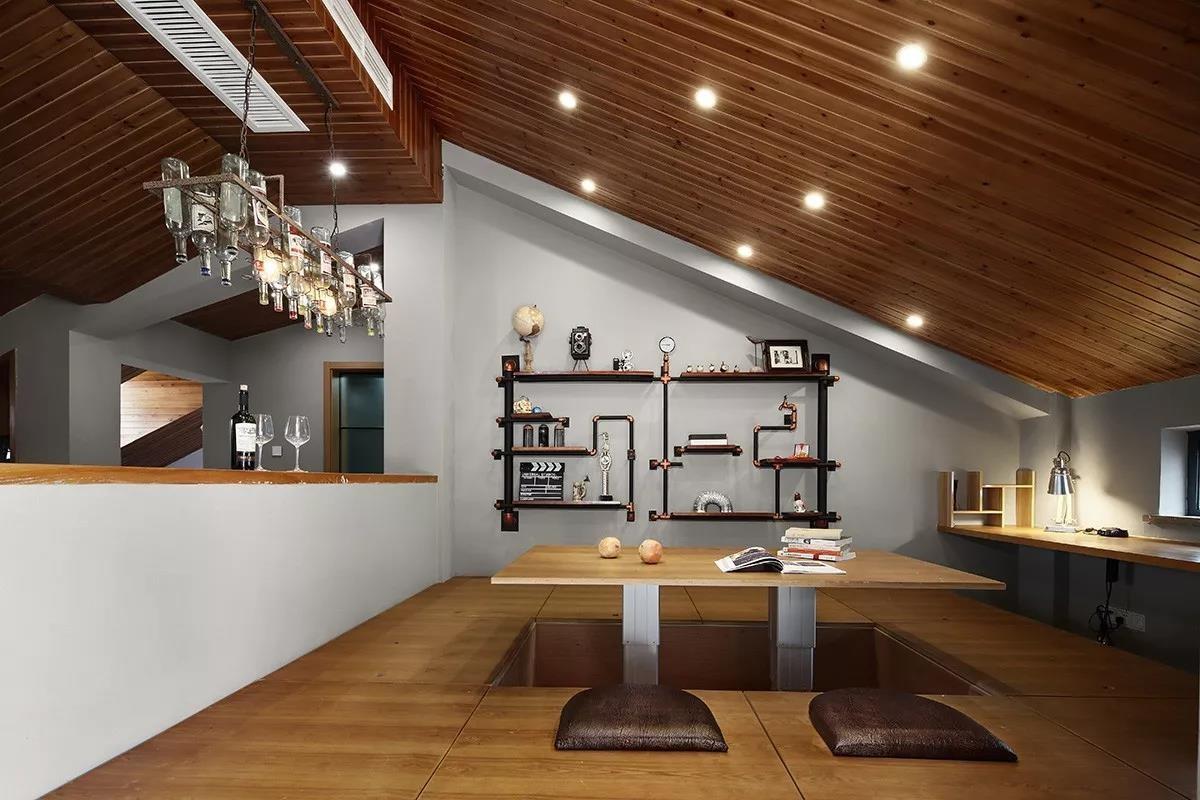 2020工業起居室裝修設計 2020工業吊頂裝修圖片
