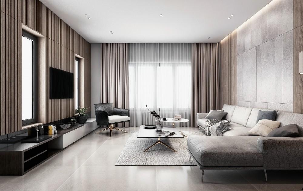 3室2卫1厅现代风格